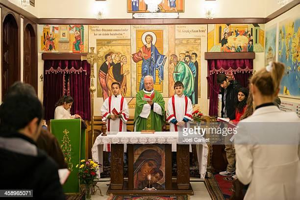 Christian worship in Antakya, Turkey