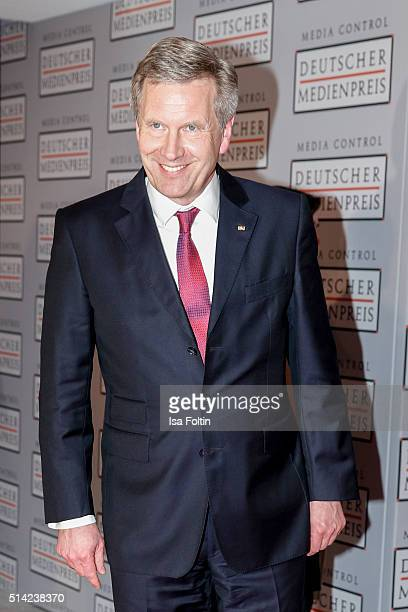 Christian Wulff attends the German Media Award 2016 on March 07 2016 in BadenBaden Germany