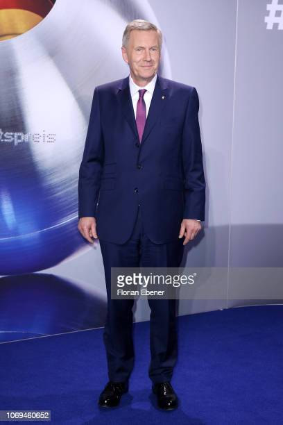 Christian Wulff attends the German Sustainability Award at Maritim Hotel on December 7, 2018 in Duesseldorf, Germany.