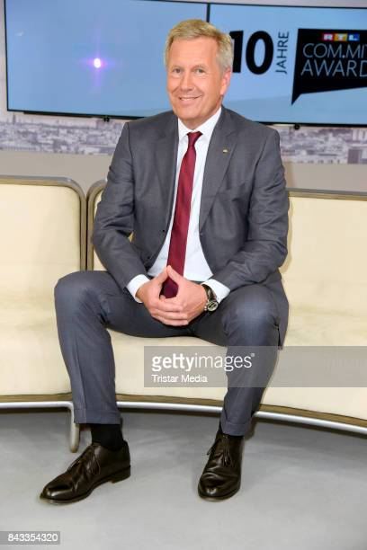 Christian Wulff attends the 'RTL Commit' Award 2017 at Internationale Funkausstellung on September 6 2017 in Berlin Germany