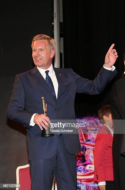 Christian Wulff during the 'Die Goldene Deutschland' Gala on July 26 2015 at Cuvillies Theater in Munich Germany