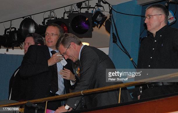 Christian Wulff und Namen auf Wunsch TheaterGala 'Das große Kleinkunstfestival für Kabarett Comedy und Musik' der Wühlmäuse 2010 mit Feier zum...