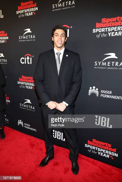 Christian Yelich attends Sports Illustrated 2018 Sportsperson of the Year Awards Show on Tuesday December 11 2018 at The Beverly Hilton in Los...
