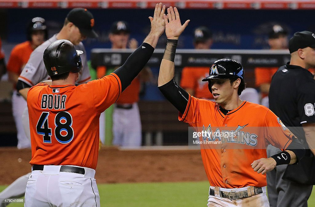 San Francisco Giants v Miami Marlins : News Photo
