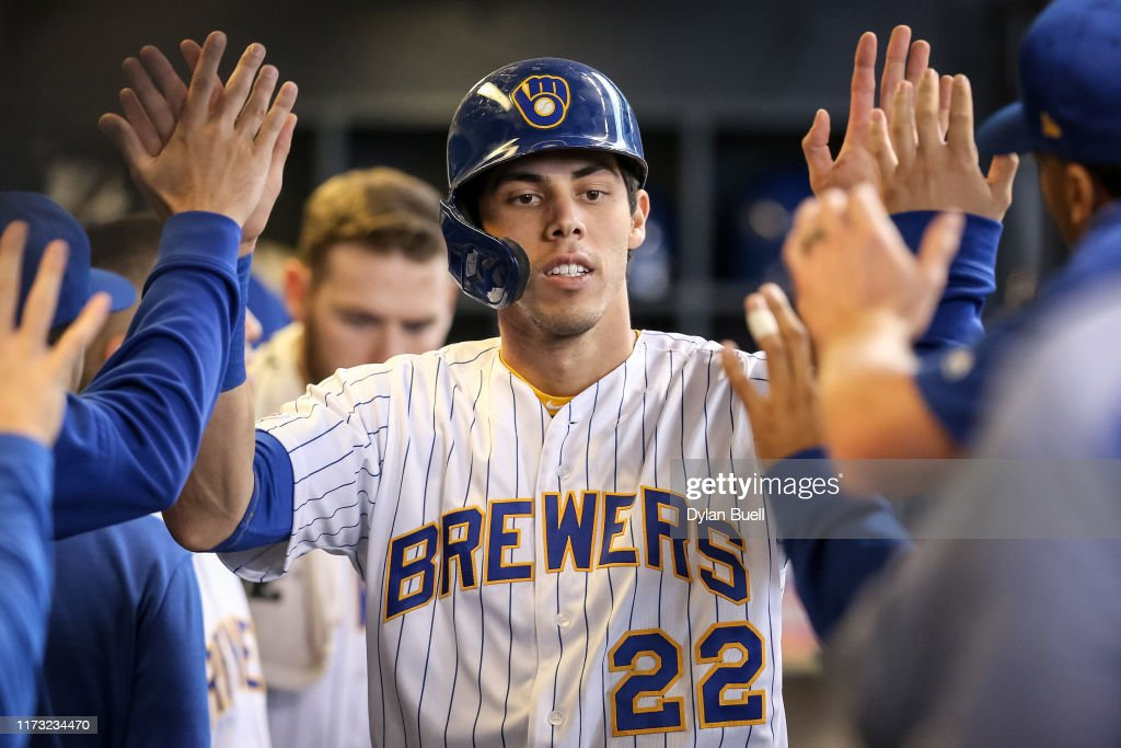 Chicago Cubs v Milwaukee Brewers : Nyhetsfoto