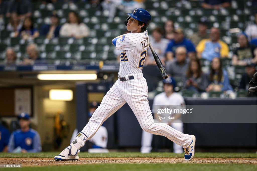 Cincinnati Reds v Milwaukee Brewers : News Photo