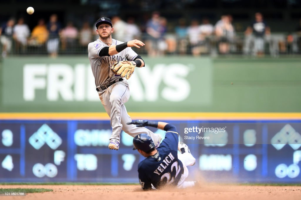 Colorado Rockies v Milwaukee Brewers : News Photo