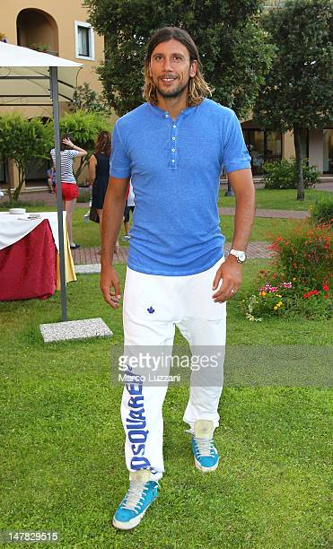 Christian Zaccardo of Parma FC attends the Parma FC Cocktail Party at Geovillage Hotel on July 4 2012 in Olbia Italy