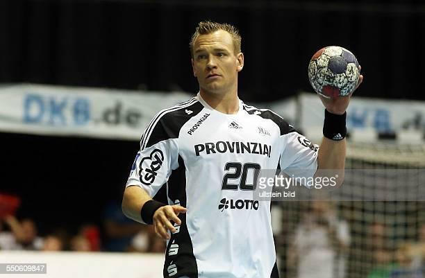 Christian Zeitz Einzelbild Aktion THW Kiel Sport Handball SwissLife Hall Herren HBL DKB Bundesliga Saison 2012