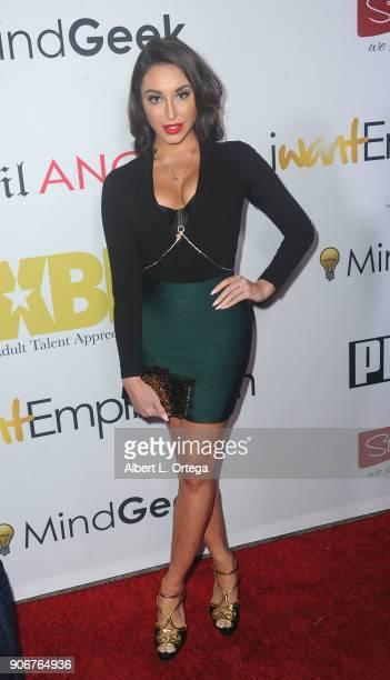 Christiana Cinn arrives for XBiz's RISE Performer Appreciation Event held at 1 Oak on November 15 2017 in West Hollywood California