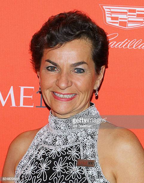 Christiana Figueres attends the 2016 Time 100 Gala at Frederick P. Rose Hall, Jazz at Lincoln Center on April 26, 2016 in New York City.
