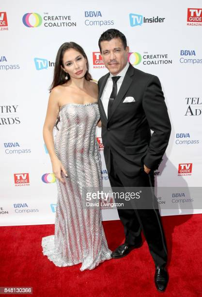 Christiana Leucas and Al Coronel at the Television Industry Advocacy Awards at TAO Hollywood on September 16 2017 in Los Angeles California