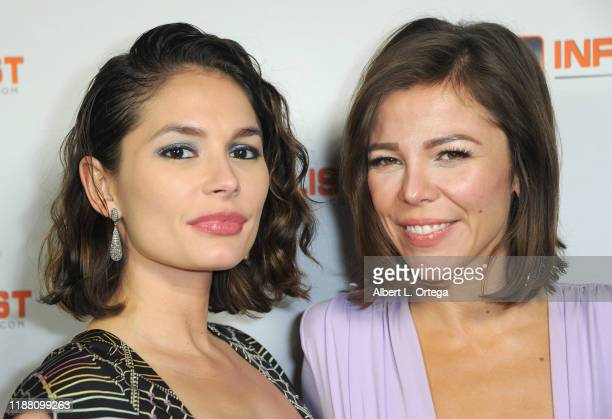Christiana Leucas and Anita Leeman Torres attend the INFOlistcom's 2019 Holiday Extravaganza held at SkyBar at the Mondrian Los Angeles on December...