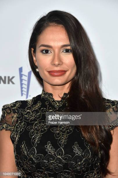 Christiana Leucas attend the 18th Annual Voices Of Our Children Fundraiser Gala And Awards at Lowes Hollywood Hotel on September 29 2018 in Hollywood...
