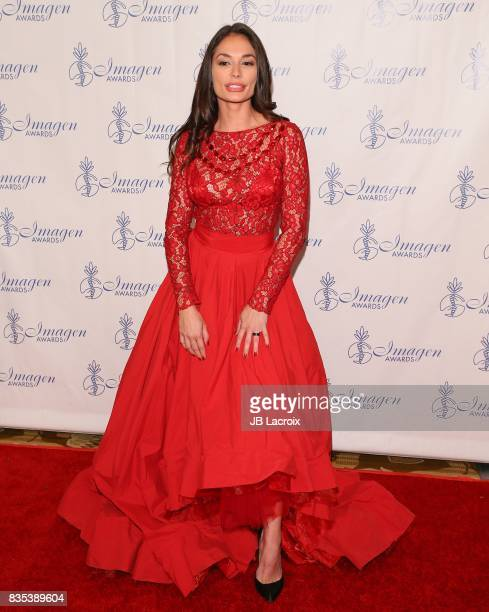 Christiana Leucas attends the 32nd annual Imagen Awards on August 18 2017 in Los Angeles California