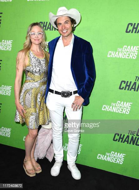 Christiana Wyly and Kimbal Musk arrives at the LA Premiere Of The Game Changers at ArcLight Hollywood on September 04 2019 in Hollywood California