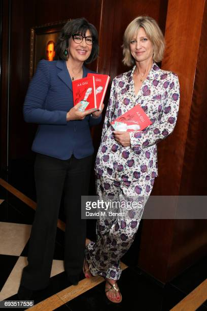 Christiane Amanpour and Nicola Formby attend the launch of new book Uncle Dysfunctional by AA Gill hosted by Esquire EditorinChief Alex Bilmes and...