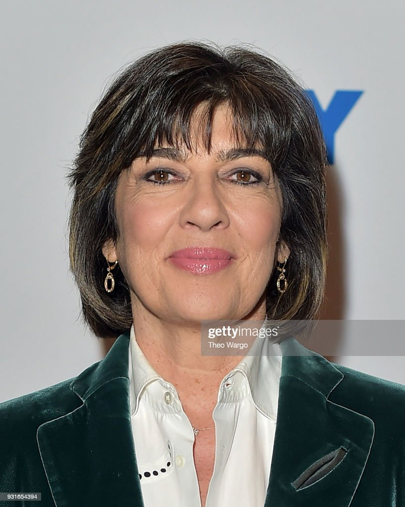 Christiane Amanpour attends 92nd Street Y Presents: Christiane Amanpour In Conversation With Maureen Dowd at 92nd Street Y on March 13, 2018 in New York City.