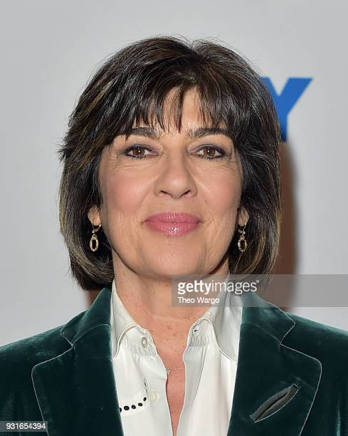 Christiane Amanpour attends 92nd Street Y Presents Christiane Amanpour In Conversation With Maureen Dowd at 92nd Street Y on March 13 2018 in New...