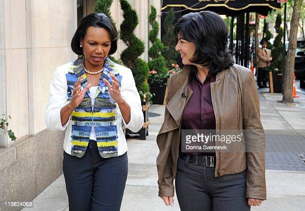AMANPOUR Christiane Amanpour interviews former Secretary of State Condoleezza Rice in New York City on May 6 as they discuss the death of Osama Bin...