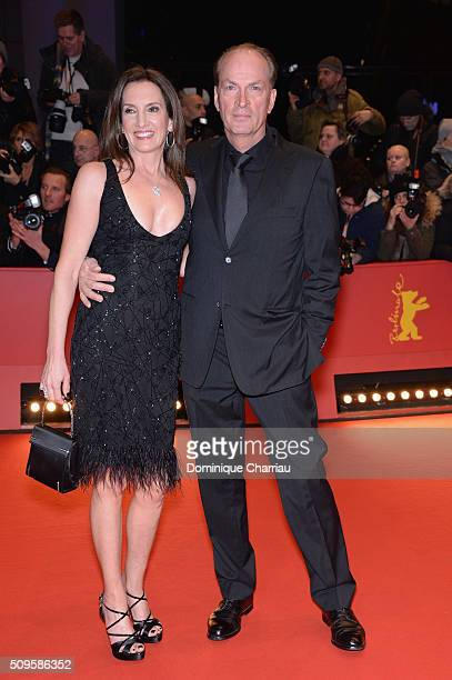 Christiane and Herbert Knaup attend the 'Hail Caesar' premiere during the 66th Berlinale International Film Festival Berlin at Berlinale Palace on...