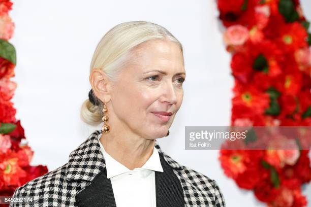 Christiane Arp chief editor Vogue Germany attends a QVC event during the Vogue Fashion's Night Out on September 8 2017 in duesseldorf Germany