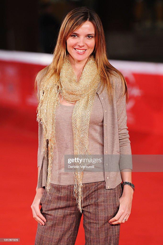 Christiane Filangeri attends the Officine Artistiche during the 6th International Rome Film Festival at Auditorium Parco Della Musica on November 3, 2011 in Rome, Italy.