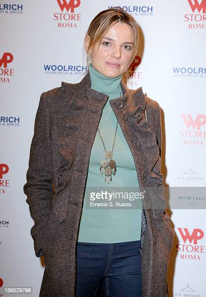 Christiane Filangeri attends the Officinelab Presentation during the 7th Rome Film Festival at the Auditorium Parco Della Musica on November 16 2012...