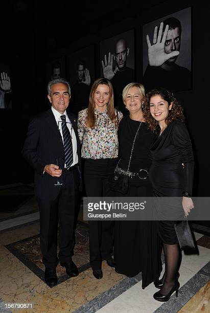 Christiane Filangieri attends the Bulgari 'Stop Think Give' exhibition preview and cocktail at Palazzo Pecci Blunt on November 15 2012 in Rome Italy