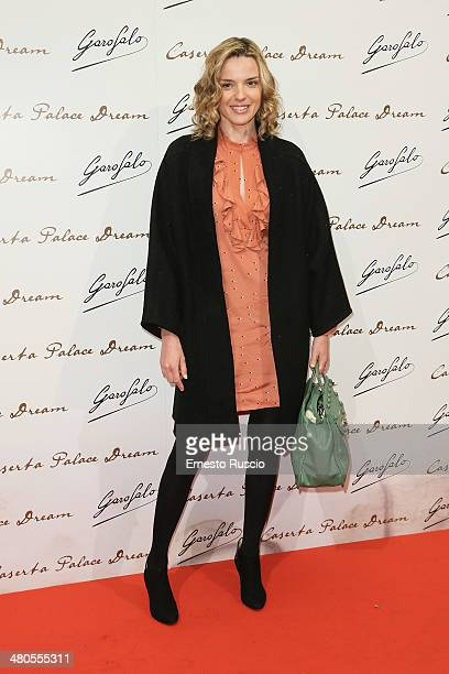 Christiane Filangieri attends the 'Caserta Palace Dream' premiere at Capitol Club on March 25 2014 in Rome Italy