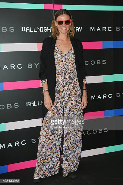 Christiane Filangieri attends the Marc By Marc Jacobs MbMJSunnies Party at Spazio 900 on May 23 2014 in Rome Italy