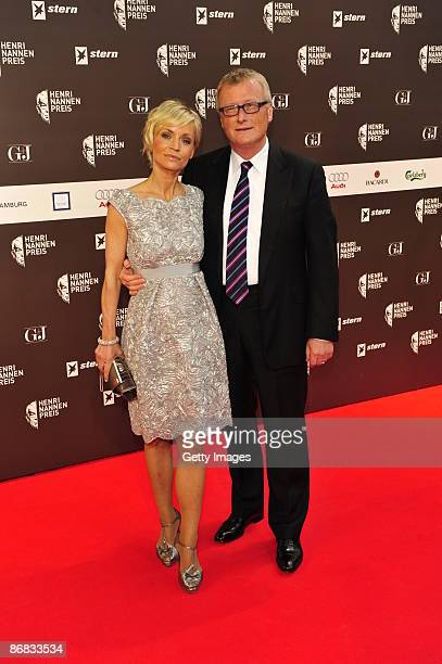 Christiane Gerboth and HansUlrich Joerges attend the HenriNannenAward at the Schauspielhaus on May 8 2009 in Hamburg Germany