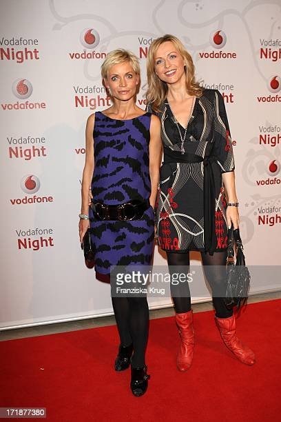 Christiane Gerboth And Inge Posmyk In The Vodafone Night At Hotel De Rome In Berlin