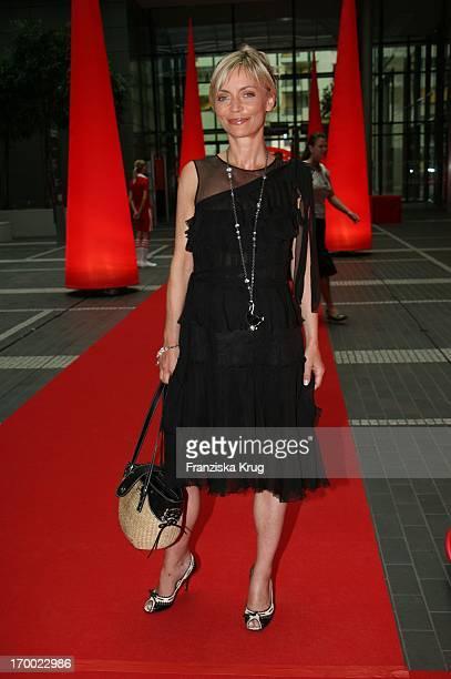 Christiane Gerboth at BILD summer festival in the Axel Springer publishing house in Berlin