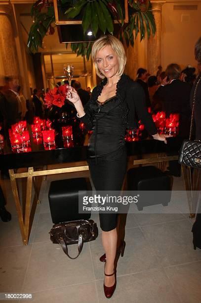 Christiane Gerboth Bei Der Eröffnung Des Hotel De Rome In Berlin