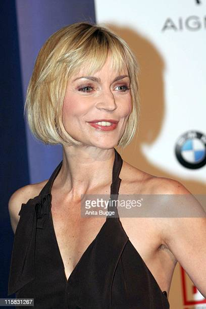 Christiane Gerboth during Felix Burda Awards March 27 2007 at The Ritz Carlton Hotel in Berlin Berlin Germany