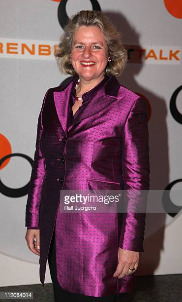 Christiane Graefin zu Rantzau attends the 'Berenberg ArtTalk' at the Rheinterassen on April 12 2011 in Cologne Germany
