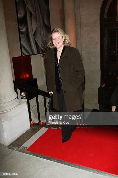 Christiane Gräfin Von Ranzau Beim Christiansen Jahresempfang Im Hotel De Rome In Berlin