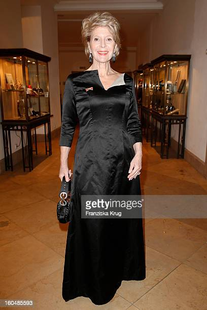 Christiane Hoerbiger attends the 'Semper Opera Ball 2013' on February 1 2013 in Dresden Germany
