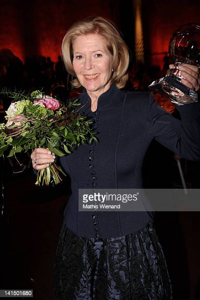Christiane Hoerbiger attends the Steiger Awards Show at Jahrhundert Halle on March 17 2012 in Bochum Germany