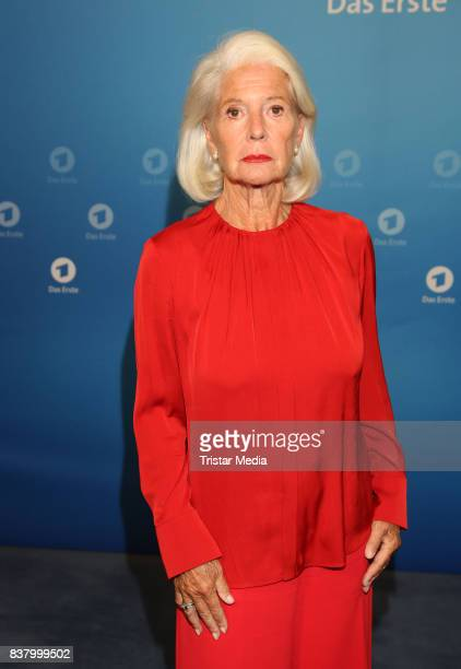 Christiane Hoerbiger during the 'Die letzte Reise' Photo Call at Hotel Atlantic Kempinski on August 23 2017 in Hamburg Germany
