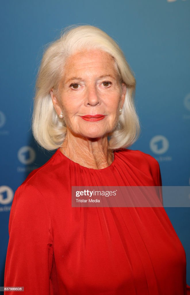 Christiane Hoerbiger during the 'Die letzte Reise' Photo Call at Hotel Atlantic Kempinski on August 23, 2017 in Hamburg, Germany.