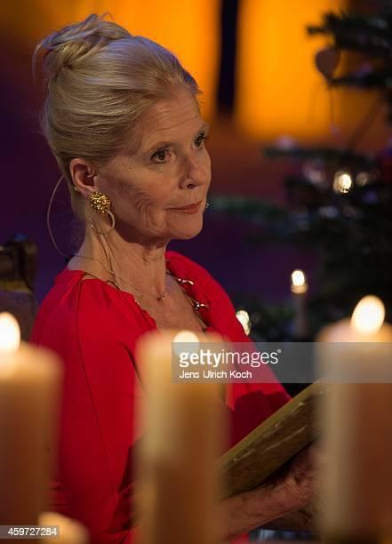 Christiane Hoerbiger performs during the TVShow 'Das Adventsfest der 100000 Lichter' on November 29 2014 in Suhl Germany