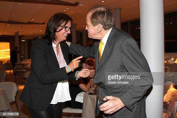 Christiane Hoffmann and Arthur Cohn attend the 'Gala Abend mit Arthur Cohn' as part of Filmfest Muenchen 2014 at Gasteig and Dinner at Hotel...