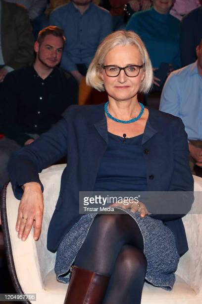Christiane Hoffmann during the Markus Lanz TV show on March 3 2020 in Hamburg Germany