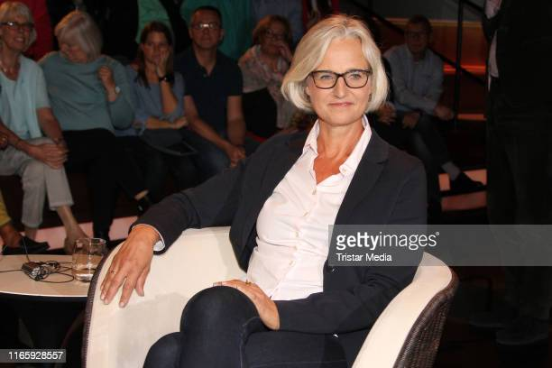 Christiane Hoffmann during the Markus Lanz TV show on September 3 2019 in Hamburg Germany