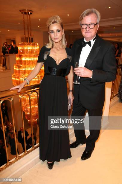 Christiane Joerges and her husband HansUlrich 'Uli' Joerges during the 67th Bundespresseball at Hotel Adlon on November 23 2018 in Berlin Germany