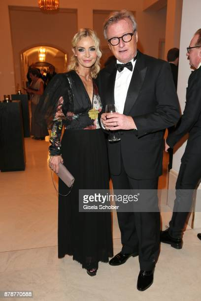 Christiane Joerges and her husband HansUlrich Uli Joerges during the 66th 'Bundespresseball' at Hotel Adlon on November 24 2017 in Berlin Germany