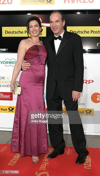 Christiane Knaup and Herbert Knaup during 2007 Die Goldene Kamera Awards Arrivals at AxelSpringerVerlag in Berlin Germany
