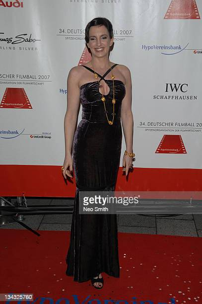 Christiane Knaup during Deutscher Filmball 2007 Red Carpet at Hotel Bayerischer Hof in Munich Bayern Germany